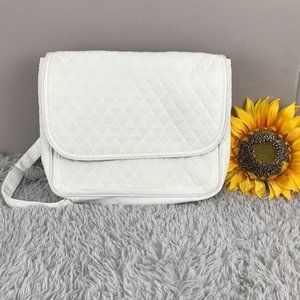 Handbags - 3/$15 Quilted Backpack Purse White